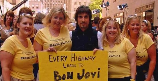 Fãs de Bon Jovi (Nova Iorque)